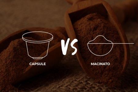 Caffè in capsule o macinato? Caratteristiche e differenze