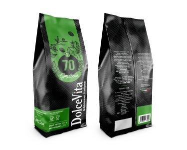 Sacchetto caffè in grani 1kg miscela GRAN CREMA