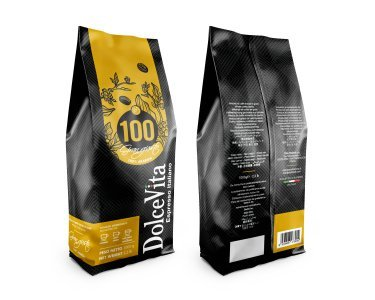 Sacchetto caffè in grani 1kg miscela GRAN GUSTO