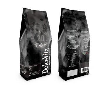 Sacchetto caffè in grani 1kg miscela RISTRETTO