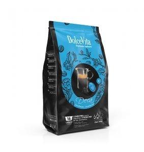 Box Dolce Vita DECAFFEINATO A Modo Mio®* compatible 128cps.