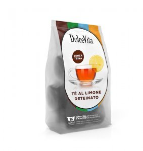 Box Dolce Vita THEINE-FREE LEMON TEA A Modo Mio®* compatible 128cps.