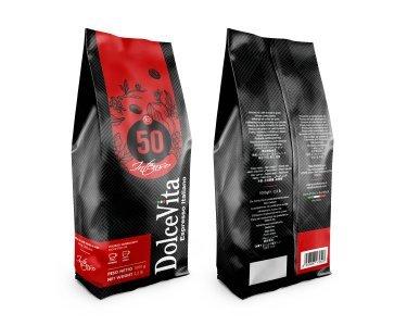 Scatola Dolce Vita caffè in grani INTENSO 10x1kg.