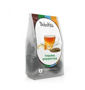 BOX Dolce Vita TIGESTIVE HERBAL TEA Dolce Gusto®* compatible 64cps.