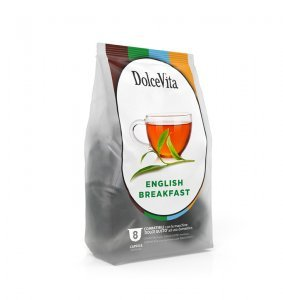 Box Dolce Vita English Breakfast Dolce Gusto®* compatible 64cps.
