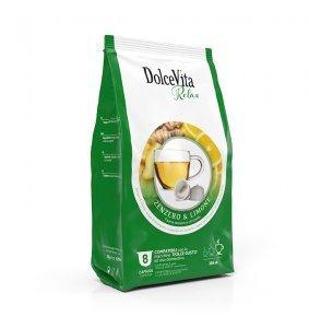 Box Dolce Vita ZENZERO & LIMONE Dolce Gusto®* compatible 64cps.