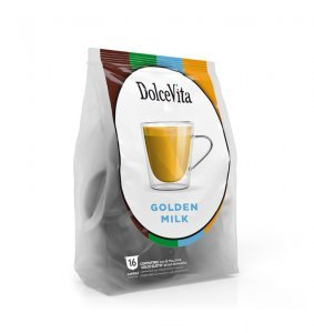 Box Dolce Vita GOLDEN MILK Dolce Gusto®* compatible 64cps.
