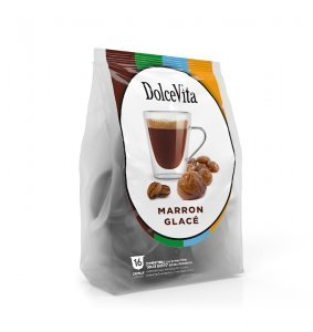 Box Dolce Vita MARRON CAFE' Dolce Gusto®* compatible 64cps.
