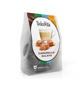 Box Dolce Vita SALTED CARAMEL Dolce Gusto®* compatible 64cps.
