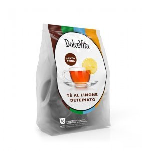 Box Dolce Vita THEINE-FREE LEMON TEA Dolce Gusto®* compatible 64cps.