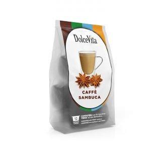 Box Dolce Vita SAMBUCA Lavazza Firma®* compatible 96cps.
