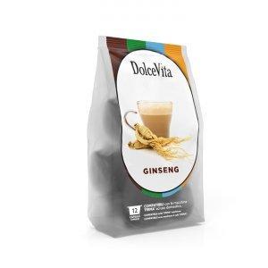 Box Dolcevita SUGARED GINSENG Lavazza Firma®* compatible 96cps.