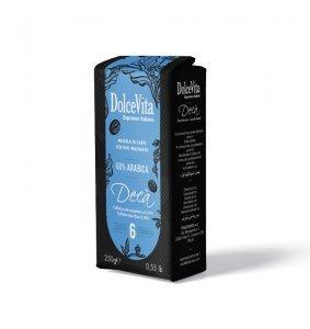 Confezione Caffè macinato 250 gr. DECAFFEINATO