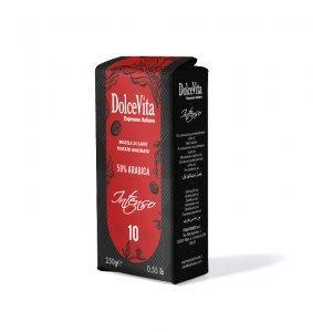 Confezione Caffè macinato 250 gr. INTENSO
