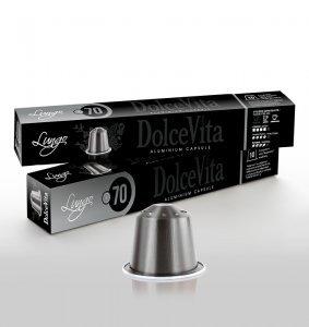 Scatola Dolce Vita Nespresso®* Alluminio LUNGO 200pz.