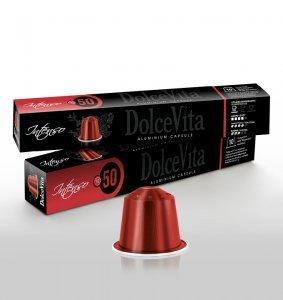 Box Dolce Vita INTENSO Nespresso®* Aluminium compatible 200cps.