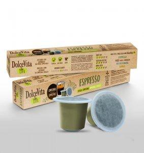 Box Dolce Vita ESPRESSO Nespresso®* Compostable compatible 200cps.