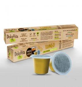 Box Dolce Vita LUNGO Nespresso®* Compostable compatible 200cps.