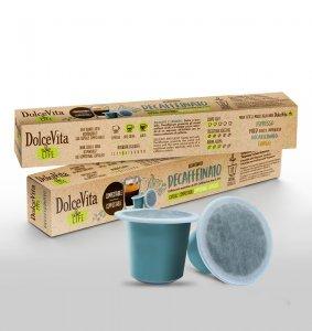 Scatola Dolce Vita Nespresso®* Compostabile DECAFFEINATO 200pz.