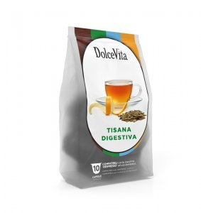 Box Dolce Vita DIGESTIVE HERBAL TEA Nespresso®* compatible 100cps.