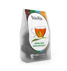 Box Dolce Vita ENGLISH BREAKFAST Nespresso®* compatible 100cps.