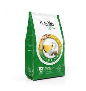Box Dolce Vita ZENZERO & LIMONE Nespresso®* compatible 100cps.