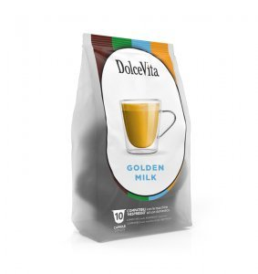 Box Dolce Vita GOLDEN MILK Nespresso®* comaptible 100cps.