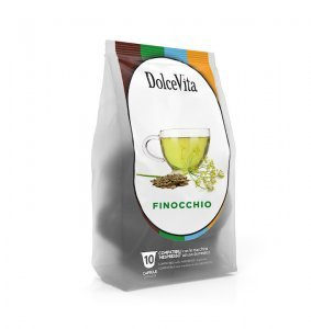 Box Dolce Vita FENNEL HERBAL TEA Nespresso®* compatible 100cps.