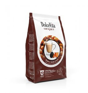 Box Dolce Vita NOCCIOLINO Nespresso®* compatible 100cps.