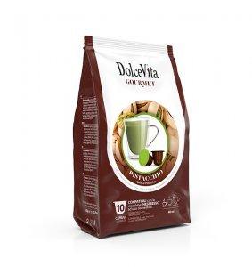 Box Dolce Vita PISTACHIO COFFEE Nespresso®* compatible 100cps.