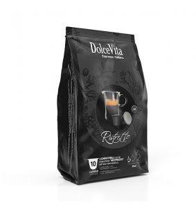 Scatola DolceVita capsule Nespresso®* RISTRETTO 100pz