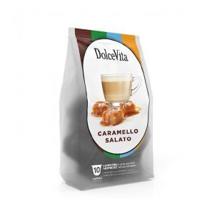 Box Dolce Vita SALTED CARAMEL Nespresso®* compatible 100cps.