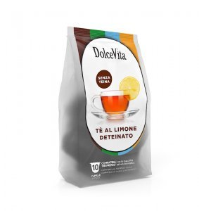 Box Dolce Vita THEINE-FREE LEMON TEA Nespresso®* compatible 100cps.